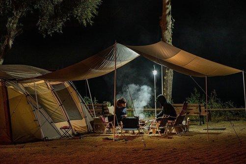 Camping – en god måde at stifte nye bekendtskaber på